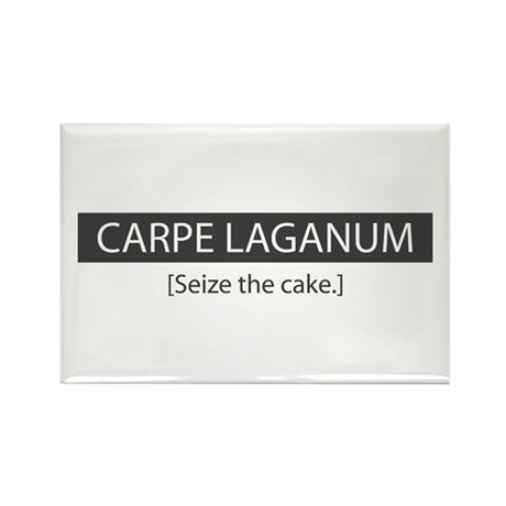 Seize the Cake Rectangle Magnet (10 pack)