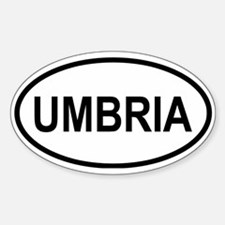Umbria Oval Decal