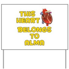 This Heart: Alma (A) Yard Sign