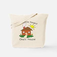 Favorite Hangout Oma's House Tote Bag