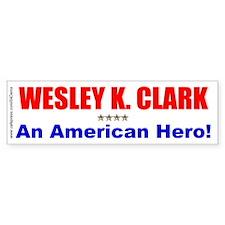 """""""American Hero"""" Bumper Bumper Sticker"""