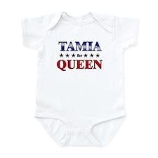 TAMIA for queen Infant Bodysuit