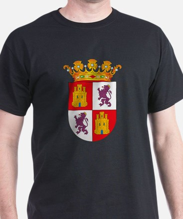 Castile and Leon Coat of Arms T-Shirt
