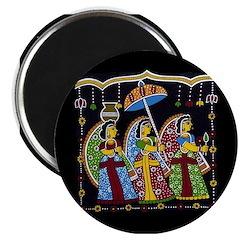 Indian Folkart Magnets (10 pack)