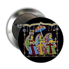 Indian Folkart Buttons (10 pack)