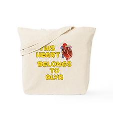 This Heart: Alva (A) Tote Bag