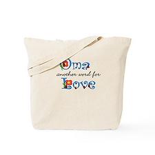 Oma Love Tote Bag