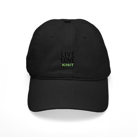 Live Love Knit Black Cap