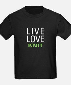 Live Love Knit T
