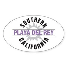 Playa del Rey California Decal