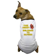This Heart: Alyssa (A) Dog T-Shirt