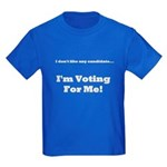 Vote For Me! Kids Dark T-Shirt