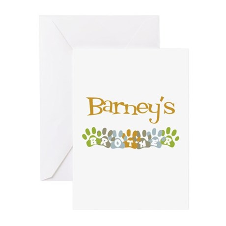 Barney's Brother Greeting Cards (Pk of 10)