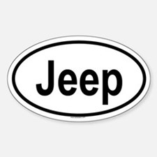 JEEP Oval Decal