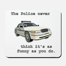 Cops Mousepad