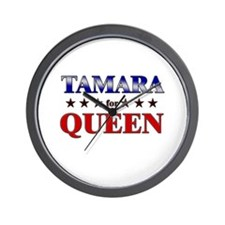 TAMARA for queen Wall Clock