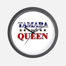 TAMARA for queen Wall Clock