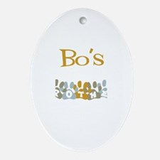 Bo's Brother Oval Ornament