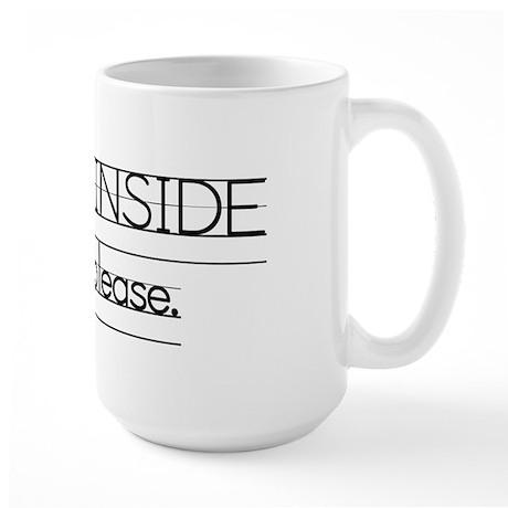 Inside Voice Large Mug