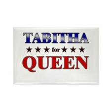 TABITHA for queen Rectangle Magnet