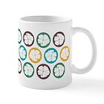 Tropical Hibiscus Flower Art Ceramic Coffee Mug