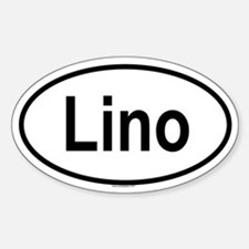 LINO Oval Decal