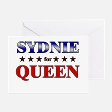 SYDNIE for queen Greeting Card