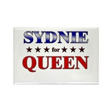 SYDNIE for queen Rectangle Magnet