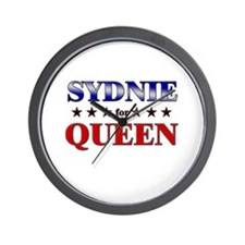 SYDNIE for queen Wall Clock