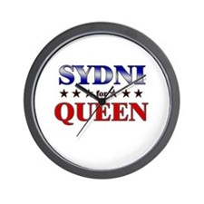 SYDNI for queen Wall Clock
