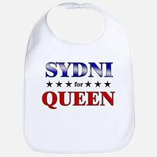 SYDNI for queen Bib