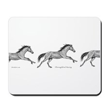 Thoroughbred Horse Racing ~ Mousepad