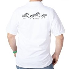 Thoroughbred Horse Racing ~ T-Shirt (2 Sides)