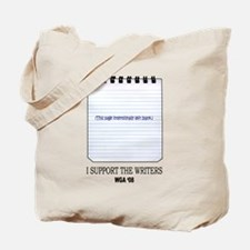 Support the Writers Tote Bag