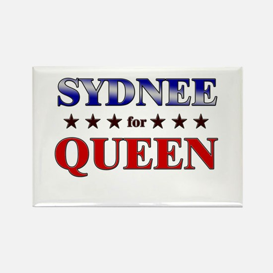 SYDNEE for queen Rectangle Magnet