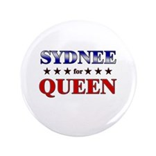 "SYDNEE for queen 3.5"" Button"