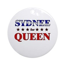 SYDNEE for queen Ornament (Round)