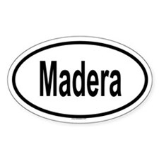 MADERA Oval Decal