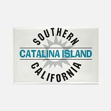 Catalina Island California Rectangle Magnet (10 pa