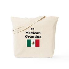 #1 Mexican Grandpa Tote Bag