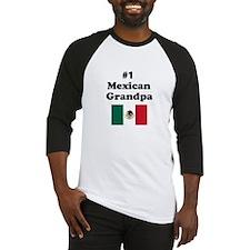 #1 Mexican Grandpa Baseball Jersey