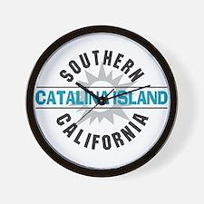 Catalina Island California Wall Clock