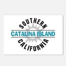 Catalina Island California Postcards (Package of 8