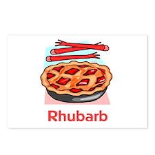 Rhubarb Postcards (Package of 8)