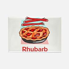 Rhubarb Rectangle Magnet