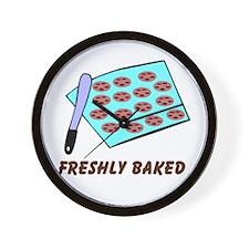 Freshly Baked Wall Clock
