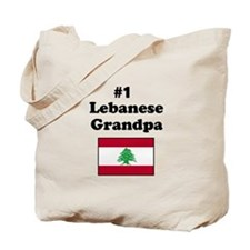 #1 Lebanese Grandpa Tote Bag
