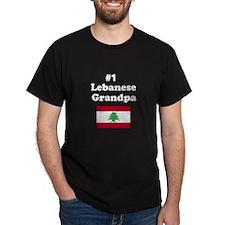 #1 Lebanese Grandpa T-Shirt