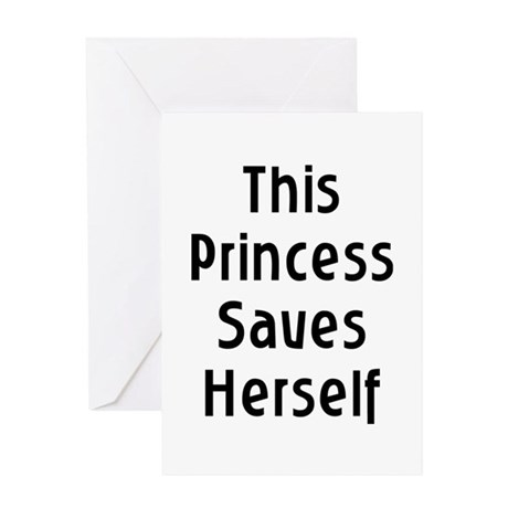 This Princess Greeting Card