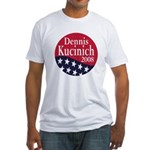 Dennis Kucinich 2008 (Fitted Political T-Shirt)